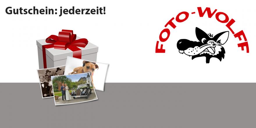Foto Wolff-Gutschein - jederzeit im Geschäft erhältlich und einlösbar