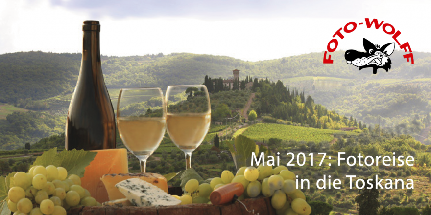 Mai 2017 - Foto Wolff-Fotoreise in die Toskana