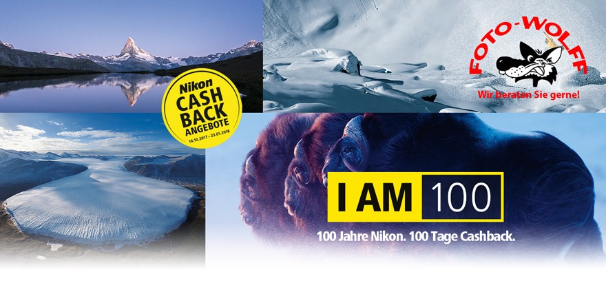 Cashback-Aktionen von Nikon November 2017 bis Januar 2018