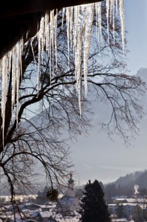 Foto Wolff-Foto des Monats Januar 2018: Eiszapfen, von Dr. Udo Werner