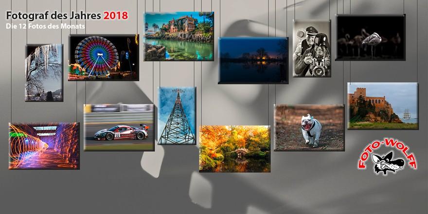 Foto Wolff-Fotograf des Jahres 2018: Die 12 Fotos des Monats