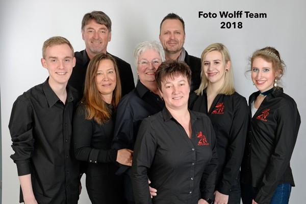 Das Foto Wolff-Team 2018