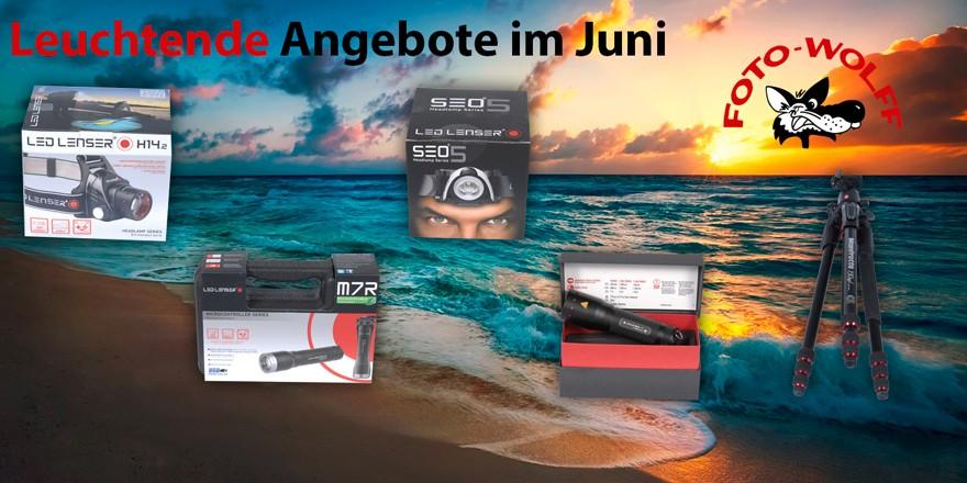 Juni-Sonderangebote bei Foto Wolff in Dinslaken