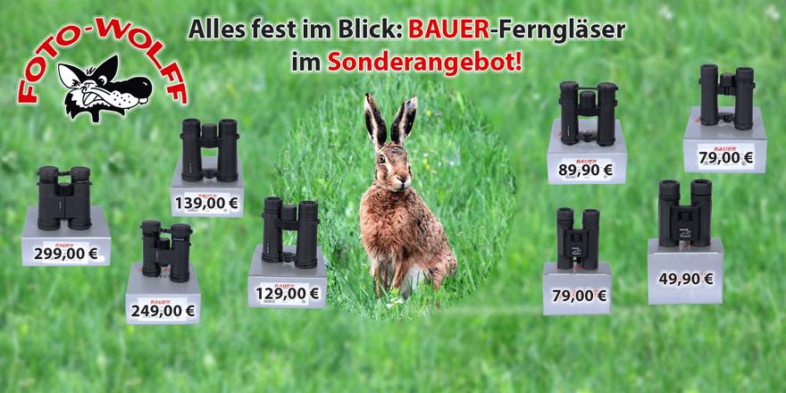 Alles fest im Blick: BAUER-Ferngläser bis Ende Juni im Sonderangebot!