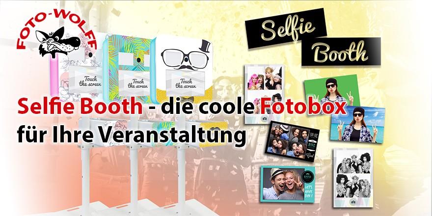 Selfie Booth - die coole Fotobox für Ihre Veranstaltung mieten
