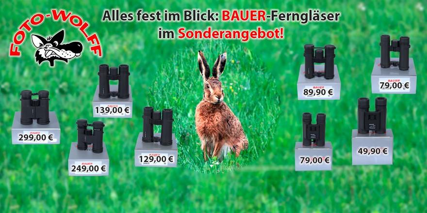 Alles fest im Blick: BAUER-Ferngläser im Sonderangebot!