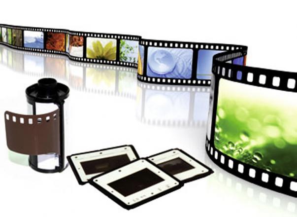 Filmstreifen und Diarahmen