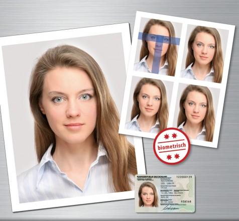 Biometrische Passbilder sofort und ohne Voranmeldung
