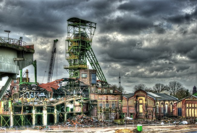 Das Ende: Zechenabbruch in Lohberg
