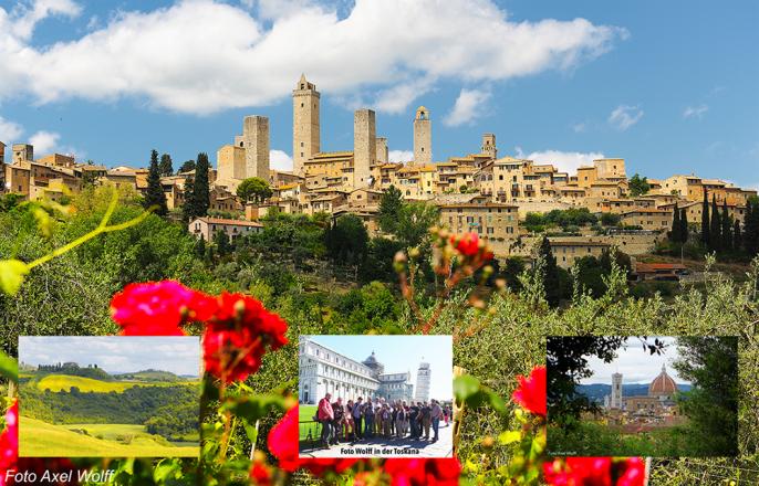 Fotos der Foto-Wolff-Fotoreise Mai 2017 in die Toskana