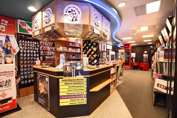 Das Foto Wolff-Ladenlokal: Eingangsbereich