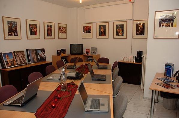 Unser Seminar- und Schulungsraum für Fotokurse
