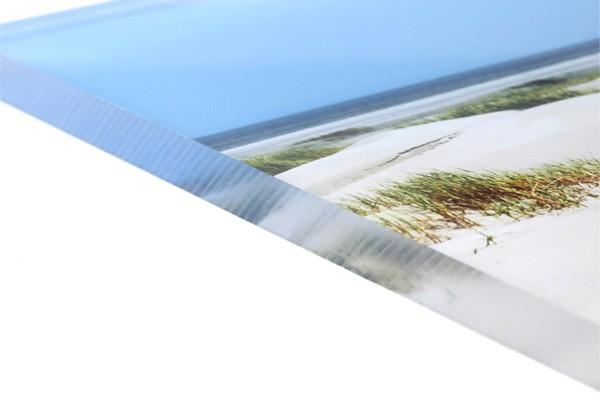 Foto auf Acrylglas: Nahaufnahme der Kante