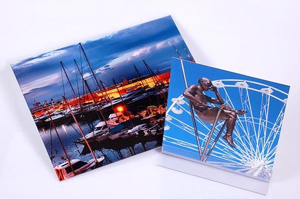 Fotoabzüge und Fotoaufsteller als Beispiel für den Foto Wolff Fotoservice