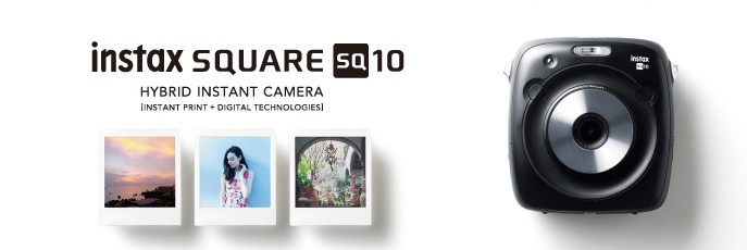 Fujifilm instax SQUARE SQ10 - Hybride Sofortbildkamera