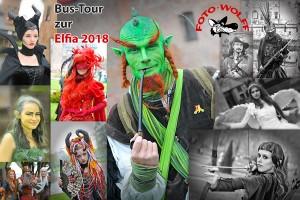 Bus-Tour zur Elfia 2018 nach Arcen - Fotografieren Sie viele kostümierte Fantasy-Gestalten