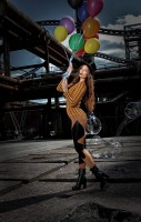 Fashion-Foto eines Models - Fotokurs Workshop Fashion-Fotografie Outdoor
