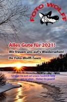 Winterlandschaft / Alles Gute für 2021! Wir freuen und auf's Wiedersehen! Ihr Foto-Wolff-Team