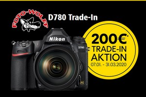 Nikon D780 Trade-In-Aktion Frühjahr 2020