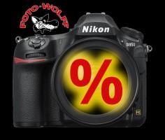 Nikon D850 Vollformat-Kamera bei Foto Wolff zum Super-Sonderpreis
