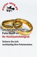 Foto Wolff ist Ihr Hochzeitsfotograf