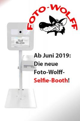 Ab Juni 2019: Die neue Foto-Wolff-Selfie-Booth!