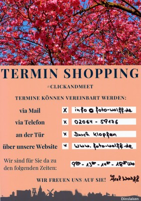 Foto Wolff in Dinslaken - Termin Shopping Click and Meet