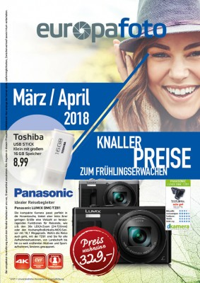 europafoto-Prospekt März/April 2018
