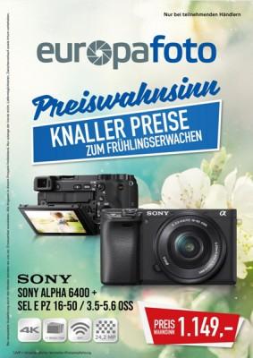 europafoto Prospekt Beilage März April 2019