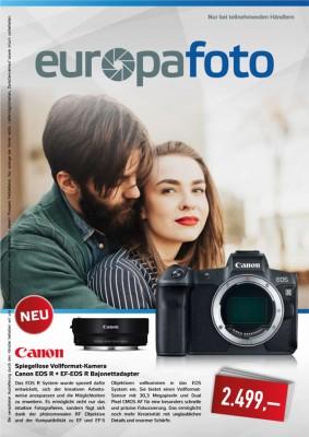 europafoto Prospekt Photokina Oktober 2018