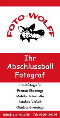Foto Wolff ist Ihr und euer Abschlussball-Fotograf: Infoblatt und Broschüre