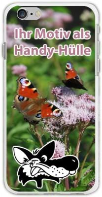 Ihr Motiv als Handy-Hülle - Schmetterlinge auf Blumen mit dem Wolf von Foto Wolff