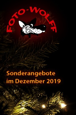 Fotoarbeiten-Sonderangebote im Dezember 2019 bei Foto Wolff in Dinslaken