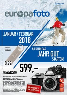 europafoto-Prospekt Januar/Februar 2018