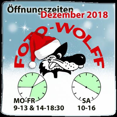 Foto Wolff Öffnungszeiten Dezember 2018