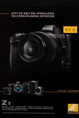 Nikon Z5 spiegellose Vollformatkamera